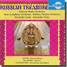 Russian Treasure - Tchaikovsky, Balakirev, Glinka (CD)