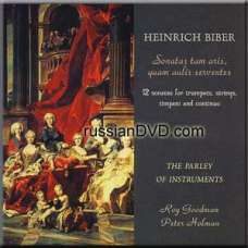 Heinrich Biber: 12 Sonatas for trumpets, strings, timpani and continuo (CD)