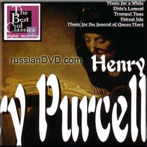 Purcell - Music for a While, Dido's Lament, Trumpet Tune, Fairest Isle, Music for the funeral of Queen Mary - George Guest, Benjamin Britten (CD)
