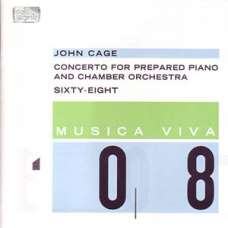 John Cage - Concerto for Prepared Piano and Chamber Orchestra, sixty-eight - Robert regos (CD)