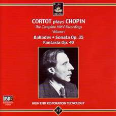 Chopin. Cortot - Ballades, Sonata No. 2 etc. (CD)