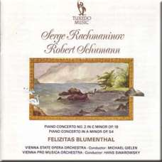 Rachmaninov - Piano Concerto No. 2 in C minor op. 18/ Schumann - Piano Concerto in A minor op. 54 - Felizitas Blumenthal (CD)
