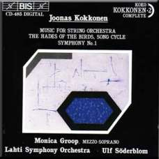 Music for string orchestra/ The Hades of the Birds/ Symphony no.1 - (CD)