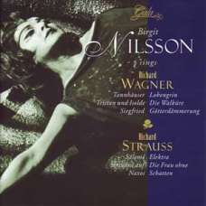 Brigit Nilsson Songs Richard Wagner & Richard Strauss (CD)