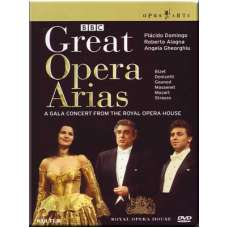 Great Opera Arias. A Gala concert from The Royal Opera House