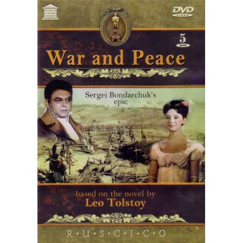 War and Peace (Sergey Bondarchuk film) (5 DVD set) (subtitles)